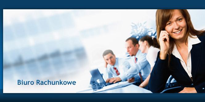 Biuro rachunkowe pomaga prowadzić firmę.