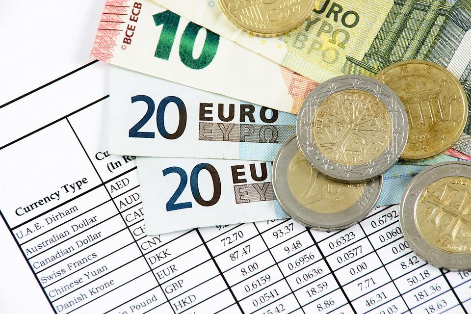 kurs dolara - tabela kursów i pieniądze