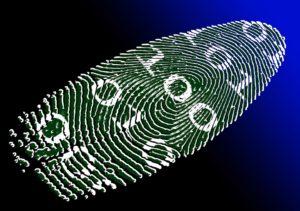 Biometria w bankowości - to obecnie najczęściej autoryzacja odciskiem palca. Źródło: Pixabay.com.